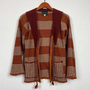 Vintage Knit Hippie Jacket